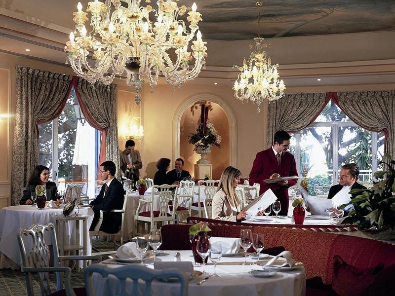Le restaurant gastronomique Lapa