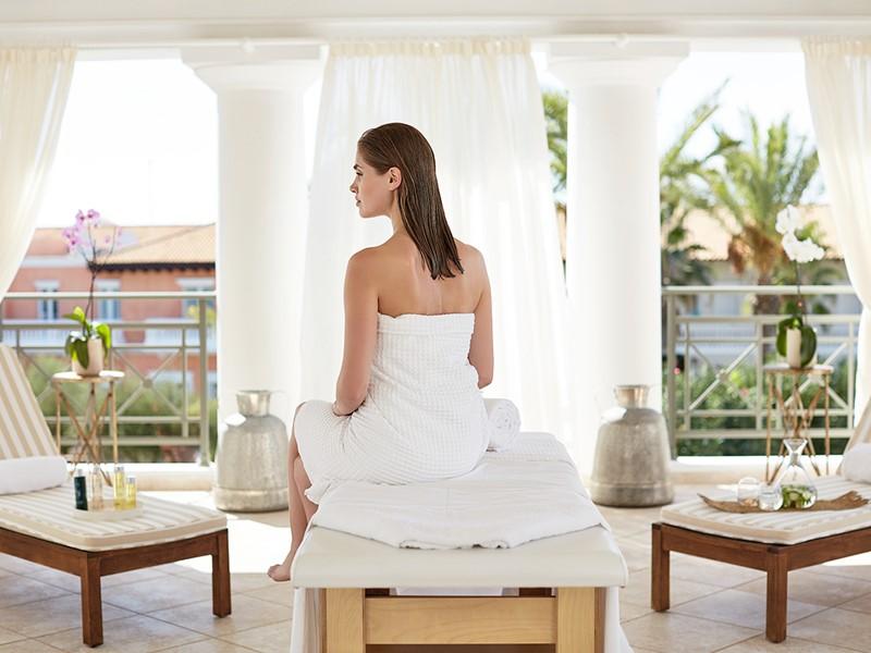 Détente et bien-être au spa de l'hôtel Olympia Oasis