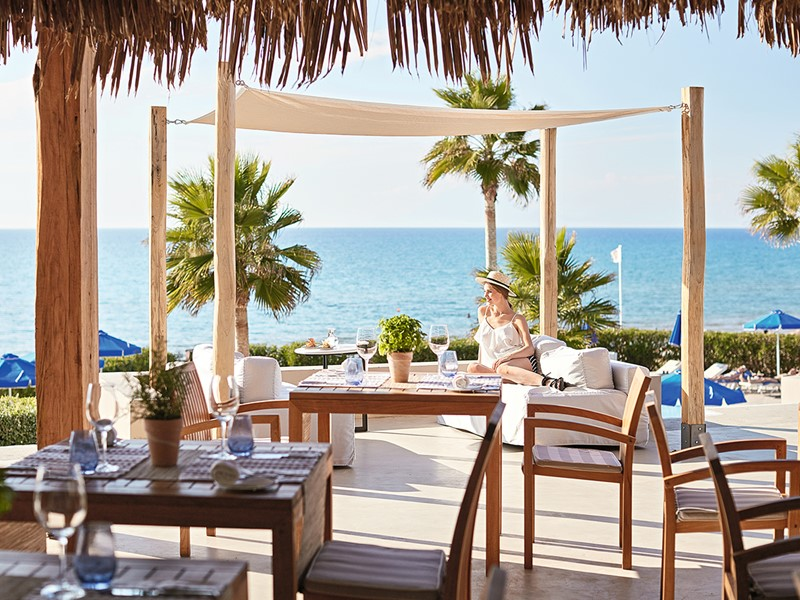 Spécialités grecques au restaurant Sea Dunes