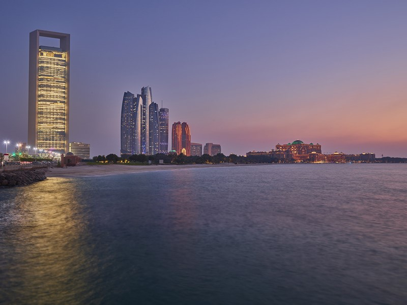 Bienvenue à Abu Dhabi