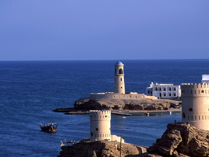 Barka, un village de bord de mer
