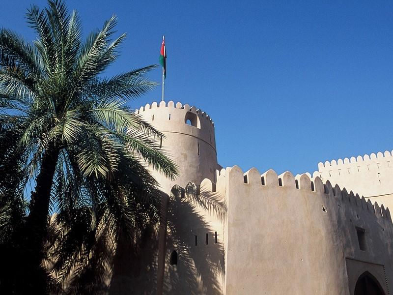 Visitez le fort de Nizwa, bel édifice du XVIIe siècle