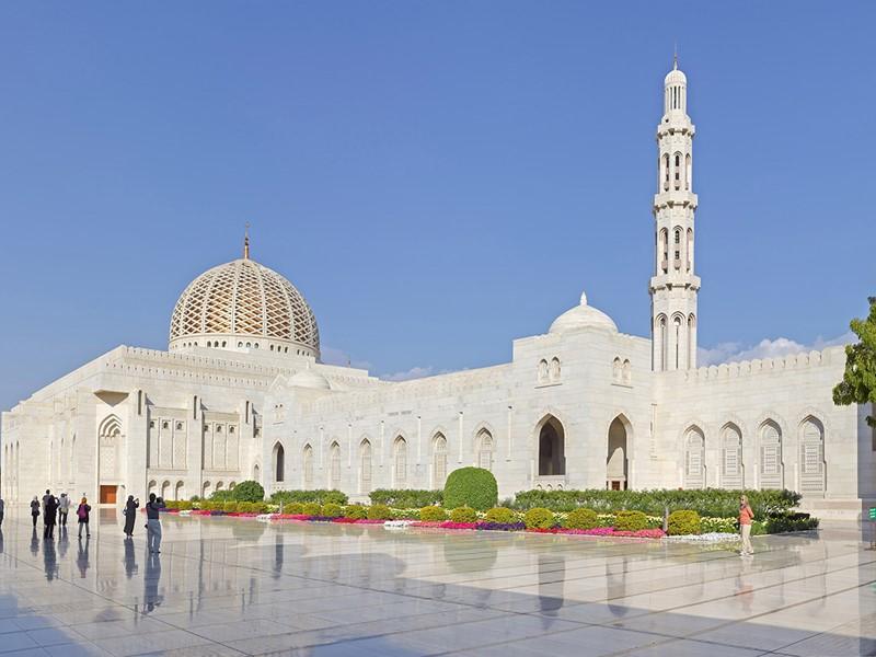 La mosquée du Sultan Qaboos