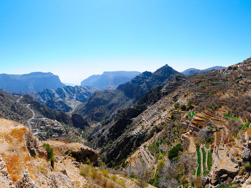 Partez à la découverte du Jebel Akhdar