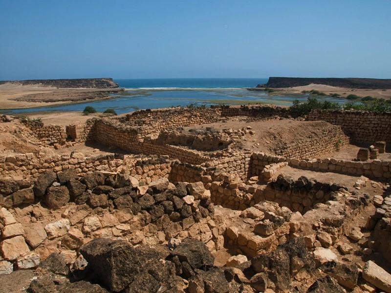 Sumharam aurait abrité un palais de la reine de Saba