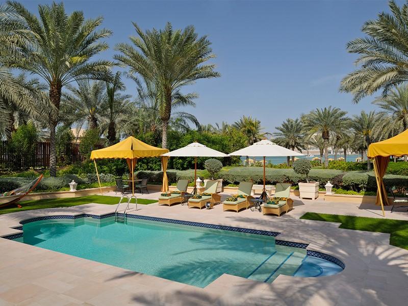 Autre piscine de l'hôtel Royal Mirage Residence