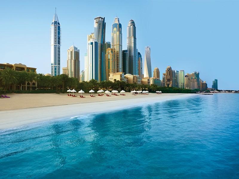 La plage Royal Mirage Resort Palace à Dubaï
