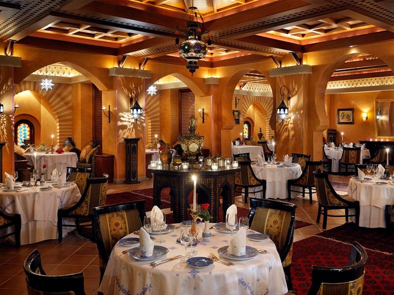 Restaurant Tagine du Royal Mirage Resort Palace