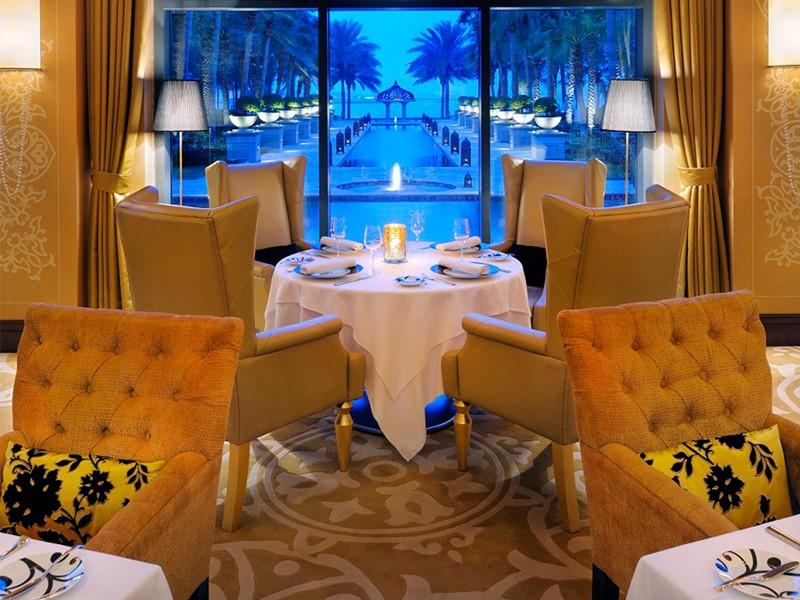 Restaurant Celebrities de l'hôtel Royal Mirage
