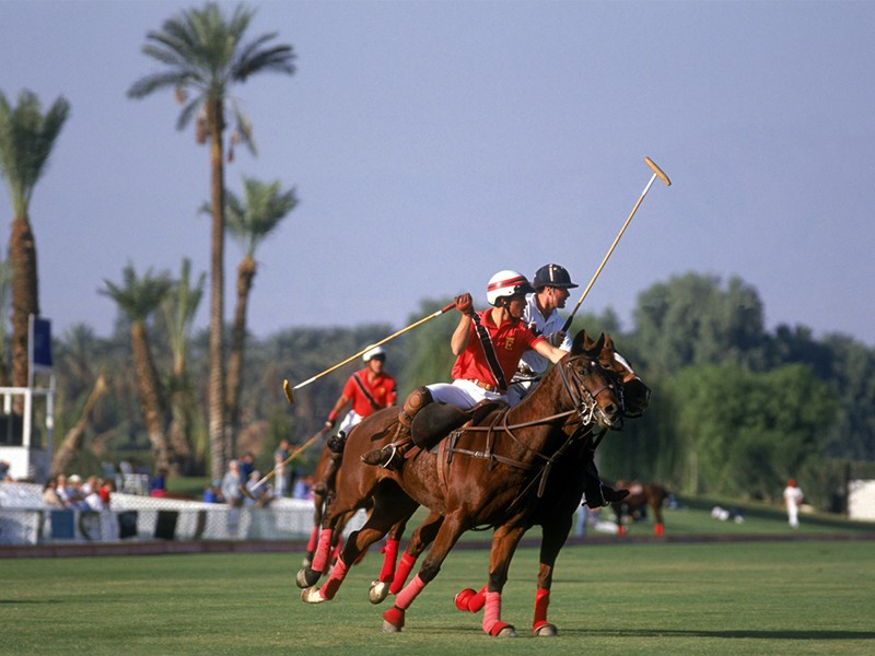 Polo au Royal Mirage Resort Palace à Dubaï
