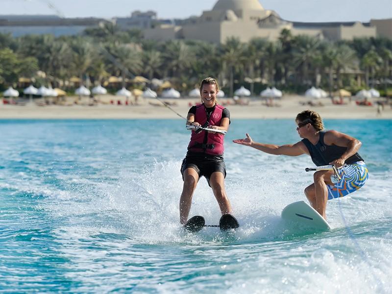 Autre activité nautique du Royal Mirage Resort