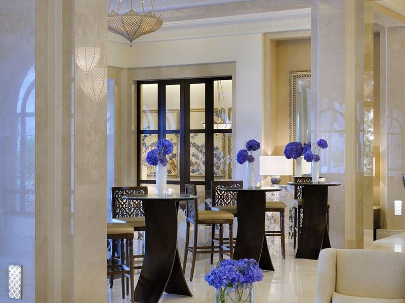 Le lounge du One & Only The Palm à Dubaï