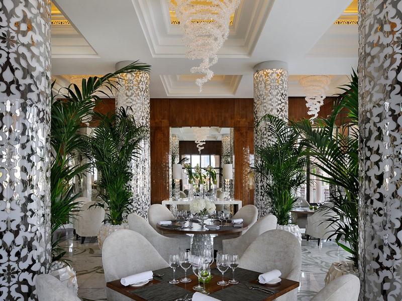 ZEST Restaurant de l'hôtel One & Only The Palm