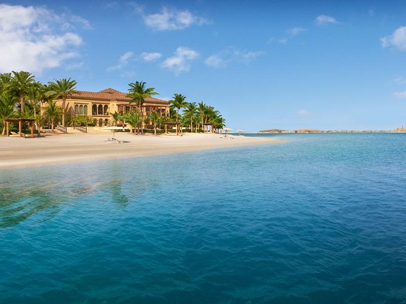 La plage de l'hôtel One & Only The Palm
