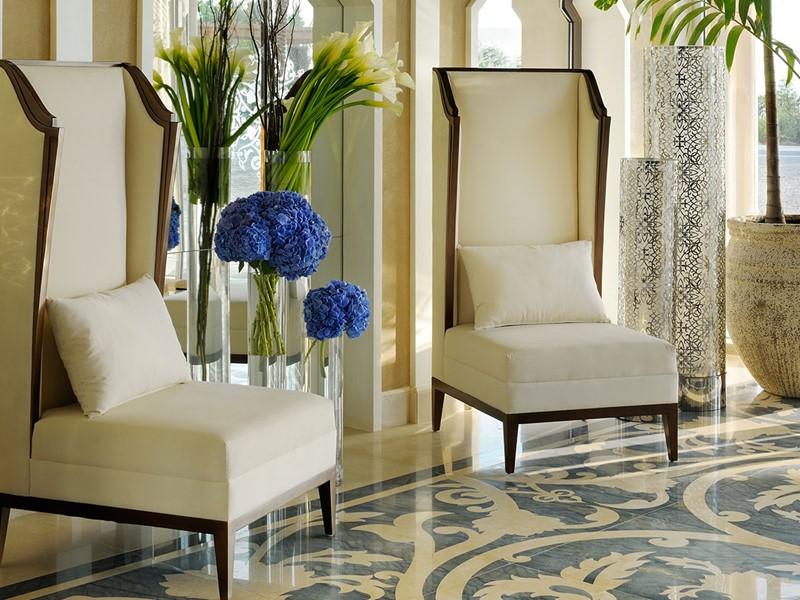 Le lobby du One & Only The Palm à Dubaï