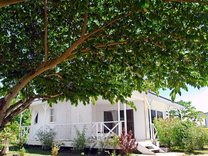 Bungalow Jardin de l'hôtel Opoa Beach en Polynésie