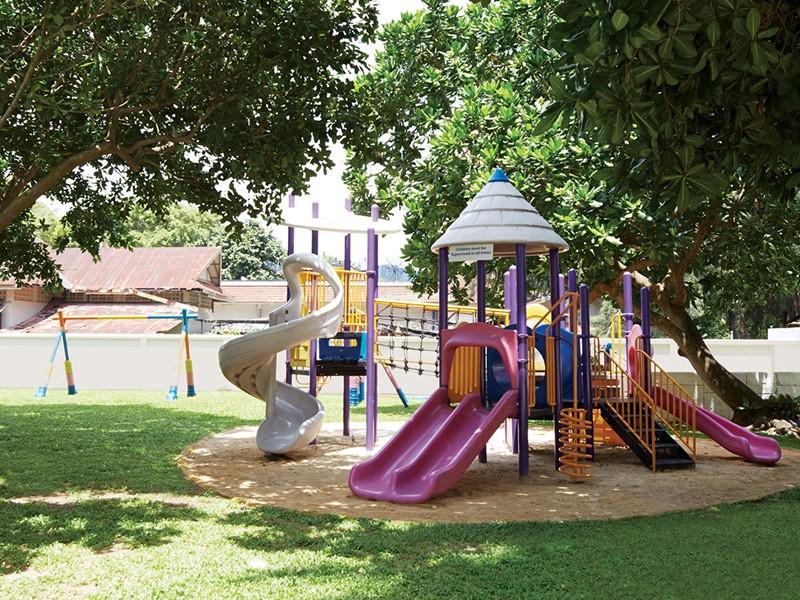 Le coin enfants de l'hôtel Outrigger situé à Phuket