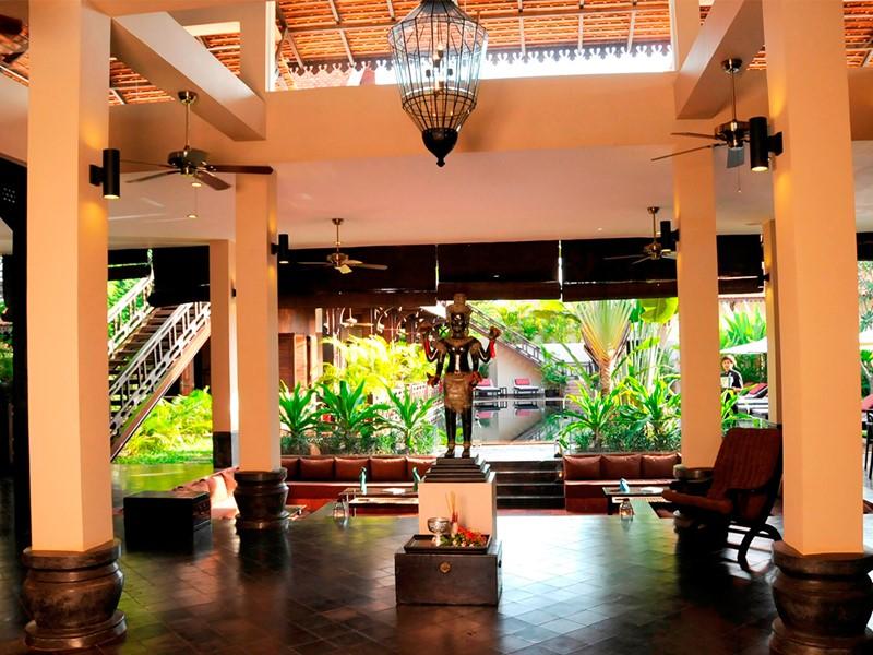 Le lobby de l'hôtel PadiVilla Resort & Spa