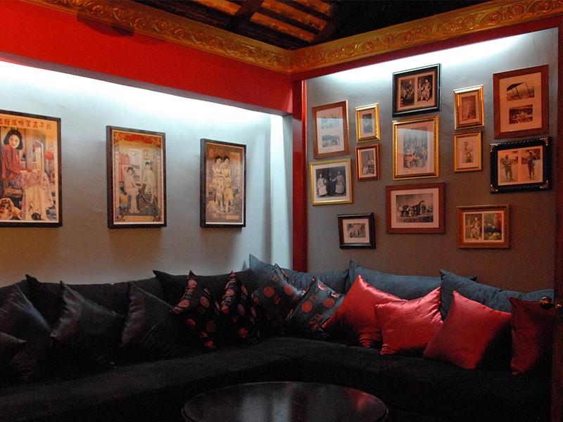 Le lounge de l'hôtel PadiVilla Resort & Spa