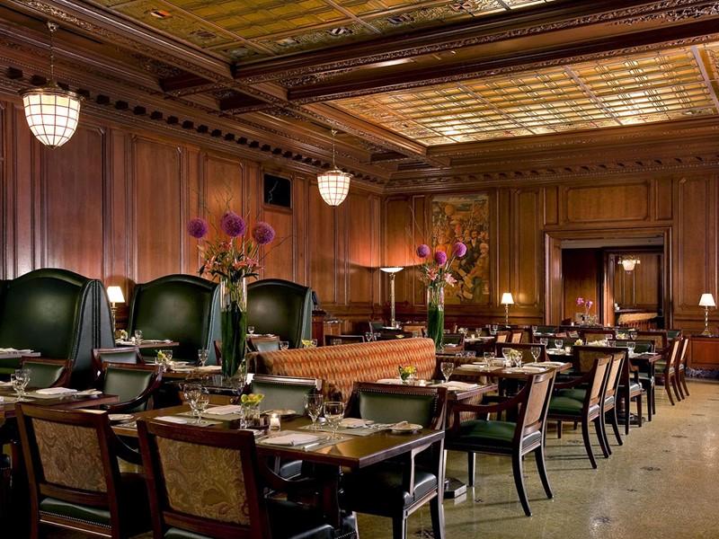 Le restaurant Maxfields du Palace Hotel à San Francisco