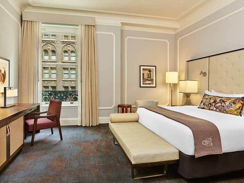 Deluxe Room du Palace Hotel à San Francisco