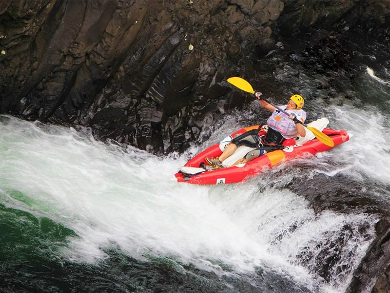 Faites du rafting à la Réunion