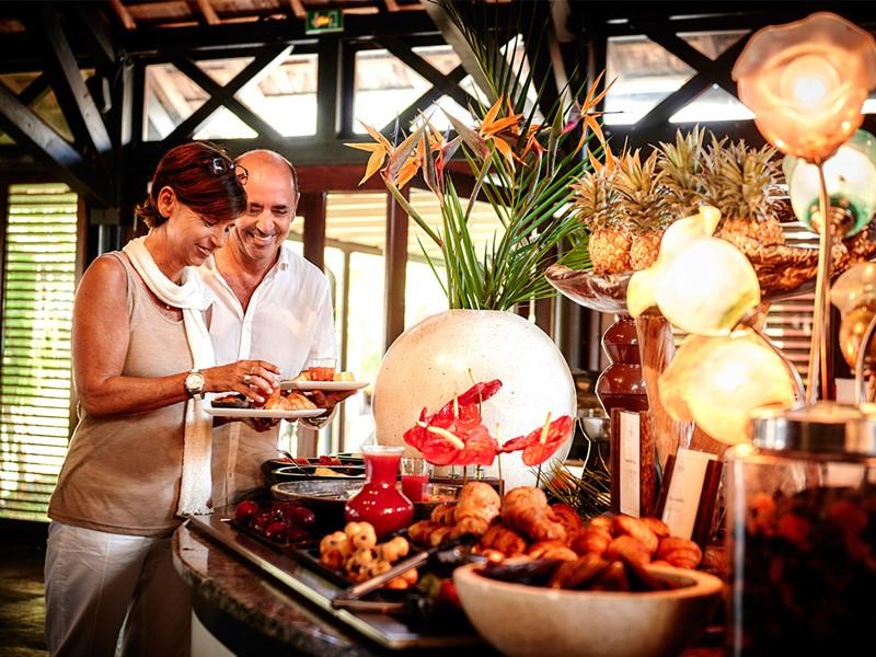 Petit déjeuner au Palm Hôtel & Spa à la Réunion
