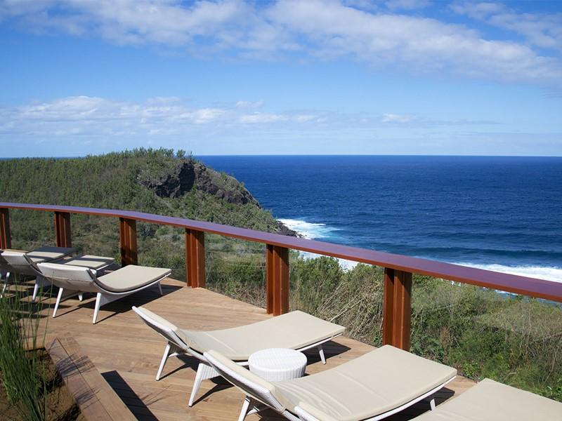 Vue sur l'Océan Indien au Palm Hôtel & Spa à la Réunion