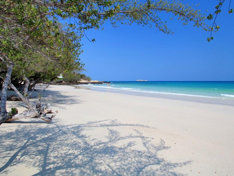 Vue de la plage du Paradee au Sud de l'île de Koh Samet