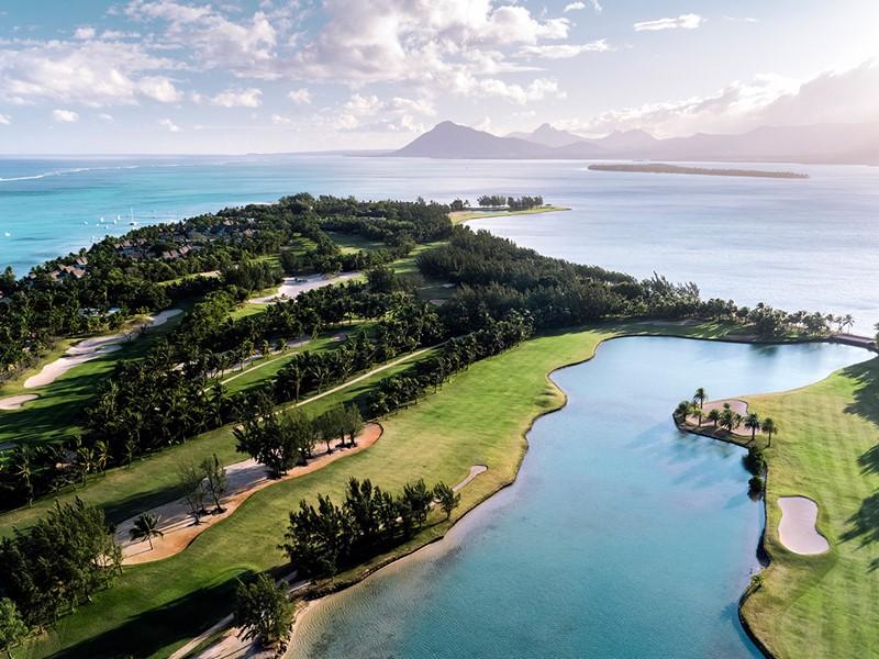 Le magnifique parcours de golf du Paradis