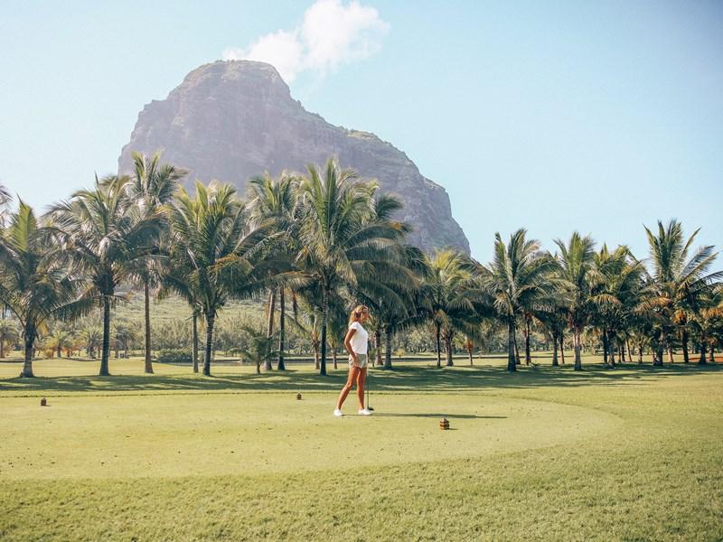 Profitez du superbe golf