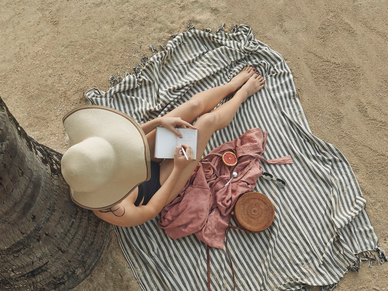 Détente sur la plage