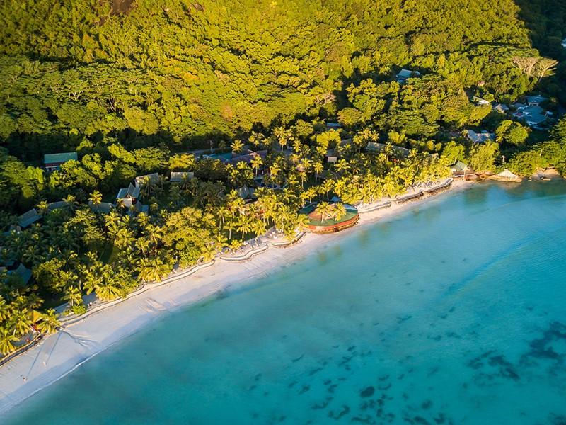 Entre la plage de Côte d'Or et la forêt tropicale
