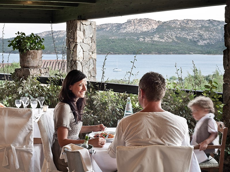 Le restaurant Le Terrazze du Cala di Lepre Park