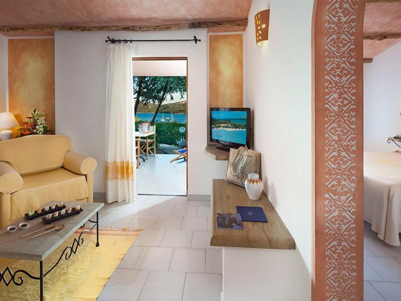 Suite de l'hôtel Cala di Lepre Park en Italie