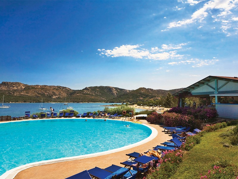 La superbe piscine du Cala di Lepre Park en Sardaigne