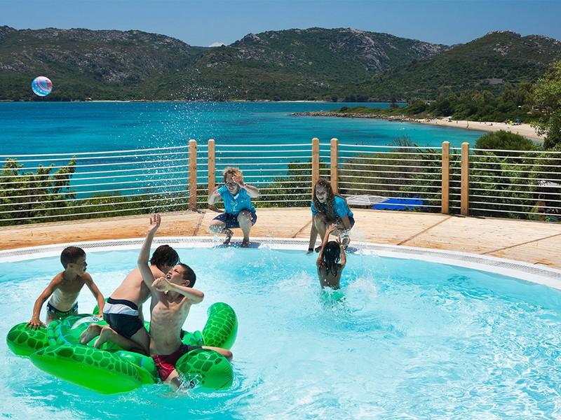 La piscine pour enfants du Cala di Lepre Park