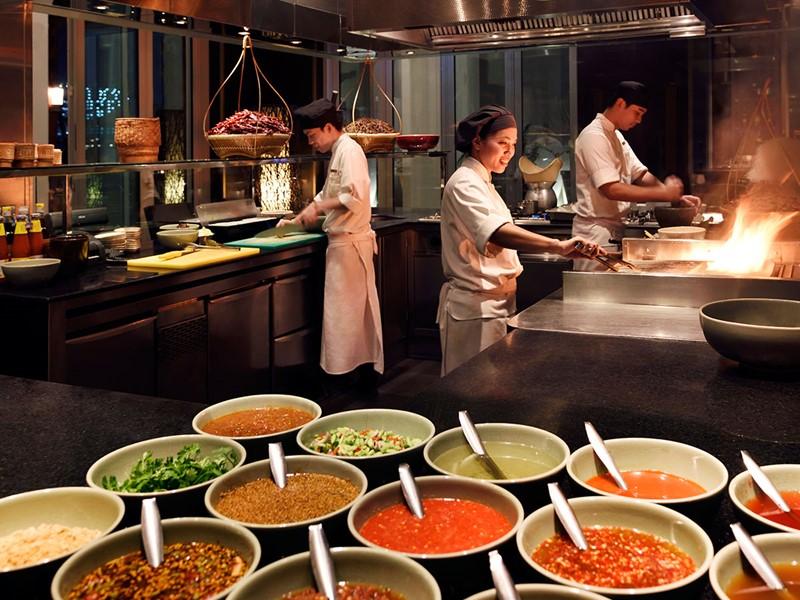 Autre vue du restaurant Thai Kitchen du Park Hyatt