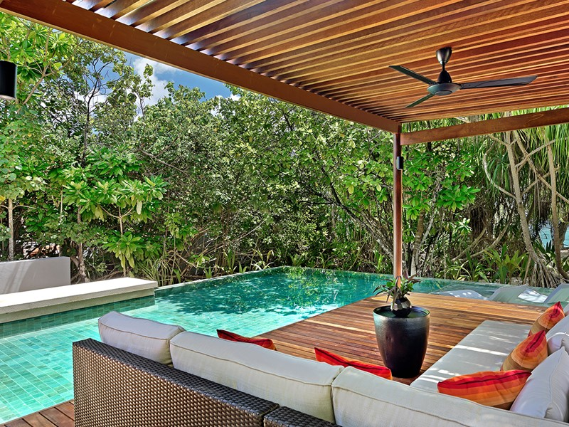 La piscine de la 2 Bedroom Park Pool Villa