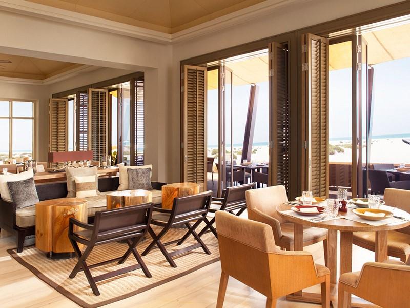 Beach House de l'hôtel Park Hyatt à Abu Dhabi