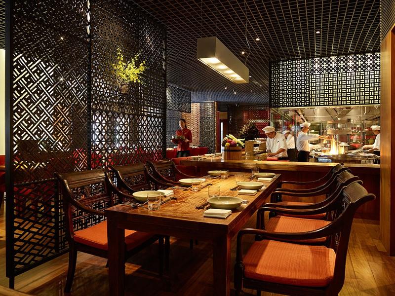 Le restaurant Square One du Park Hyatt Saigon