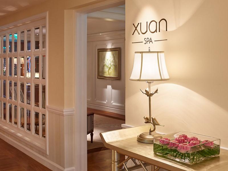 Le spa de l'hôtel 5 étoiles Park Hyatt Saigon
