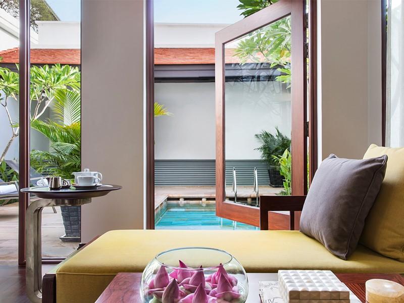 Pool Terrace Suite de l'hôtel Park Hyatt à Siem Reap