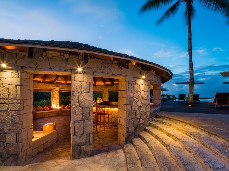 Lotus Bar du Parrot Cay & Como Shambala à Turks & Caicos