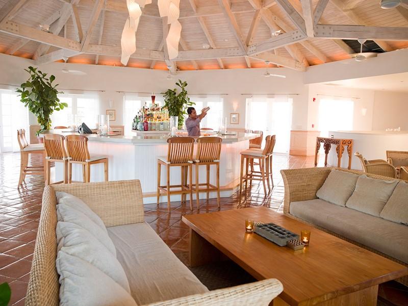 Terrace Bar de l'hôtel Parrot Cay & Como Shambala