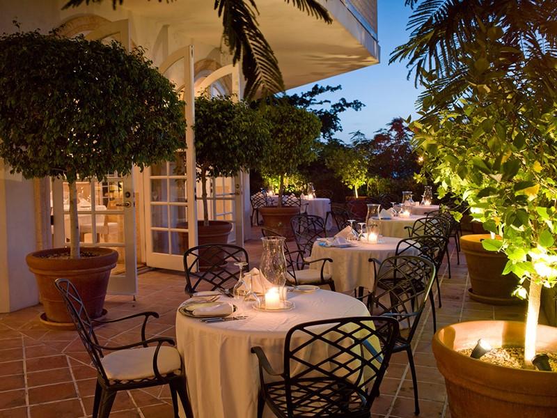 Autre vue du Terrace Restaurant du Parrot Cay & Como Shambala
