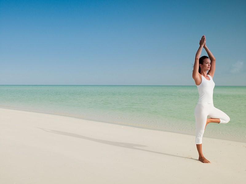 Yoga à l'hôtel Parrot Cay & Como Shambala à Turks & Caicos