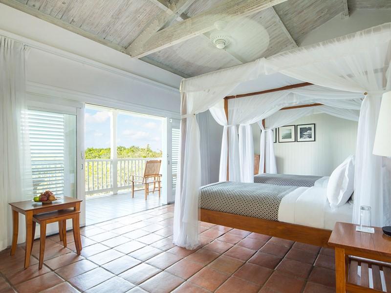 Terrace Room du Parrot Cay & Como Shambala à Turks & Caicos