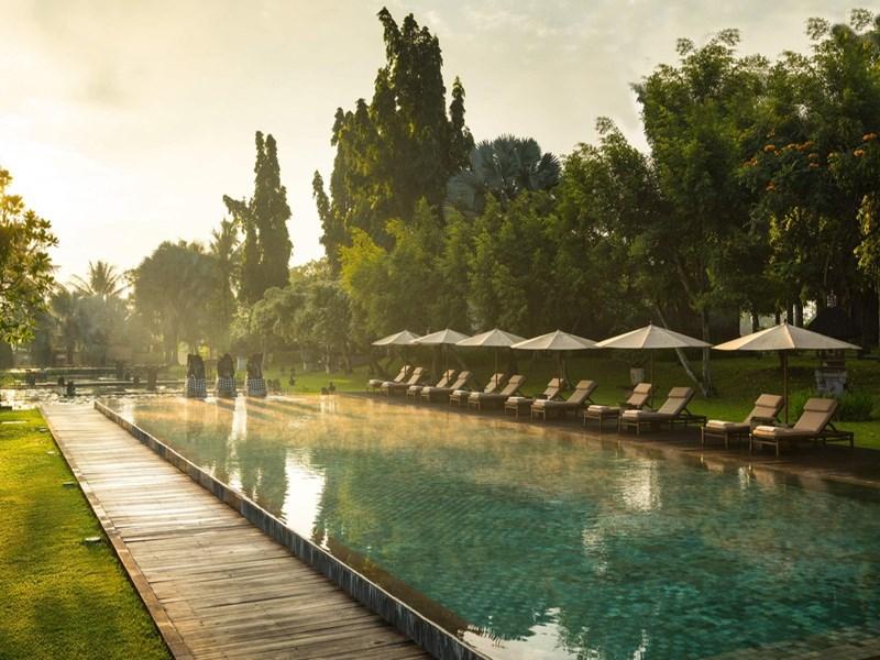 La piscine du Chedi