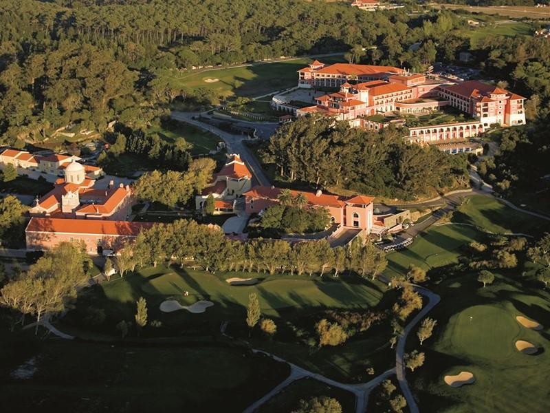 Vue aérienne de l'hôtel Penha Longa Resort